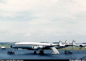 Lockheed 1049 Super Constellation en Nueva York. De Airliners
