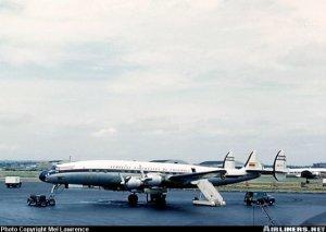 Lockheed 1049 Super Constellation en Nueva York. De Airliners