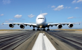 Airbus A380 y su imponente tamaño. De Aviation Week