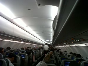 Otra del interior del avión