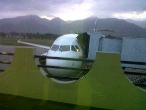 El N454AV que pernoctó en Santa Marta