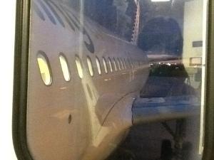 Abordando el A320 de Vueling