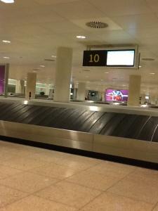 Bandas de recogida de equipaje en BCN