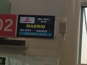 A Madrid