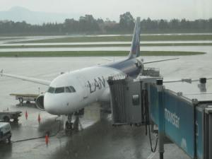 A320 de LAN en Bogotá