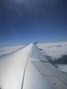 Sobrevolando España, desde el A321 de Iberia