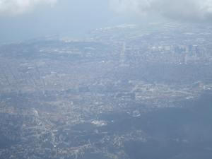 Alcanzan a ver el Camp Nou en esta foto aérea de Barcelona