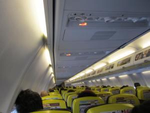 Cabina en vuelo