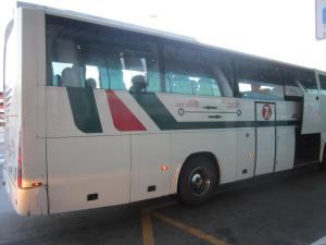 El bus de Alitalia