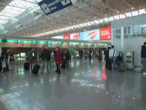 Terminal 1 de Fiumicino, utilizada por las aerolíneas de Skyteam