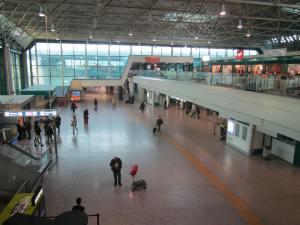 Terminal 3, en la que pasé un par de noches en 2010 y 2011
