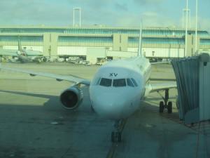 El A321 asignado a mi vuelo con destino Ámsterdam