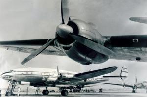 Aviones Lockheed Constellation, asignados a la ruta akrededor del mundo. De JetSite.com, en Wired