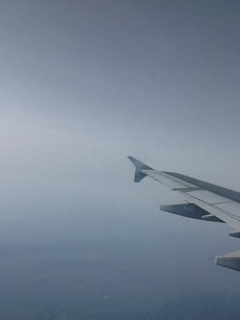 Sobrevolando la Península Ibérica a bordo de un A321 de Iberia