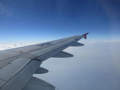 Sobrevolando Brasil en ruta entre Rio de Janeiro y Sao Paulo en A320 de TAM