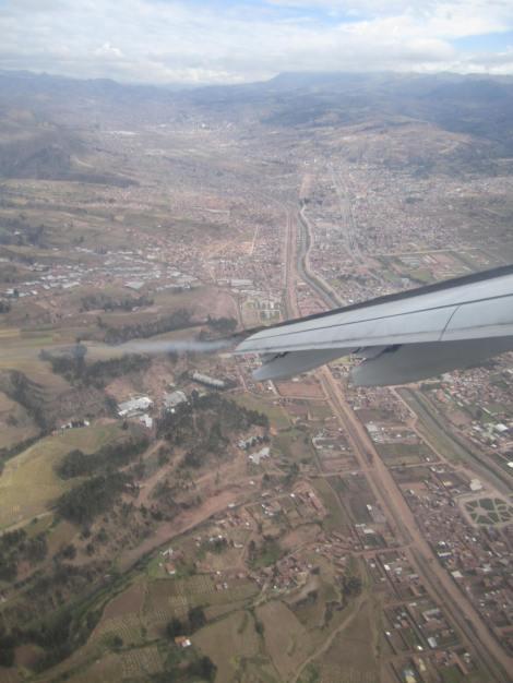 Sobrevolando Cusco, en una aproximación realmente interesante