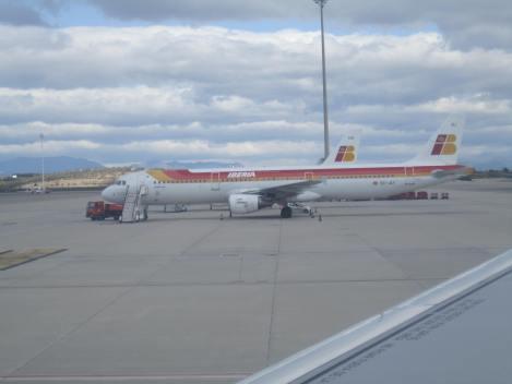 A321 de Iberia, desde un hermanito gemelo en Madrid Barajas
