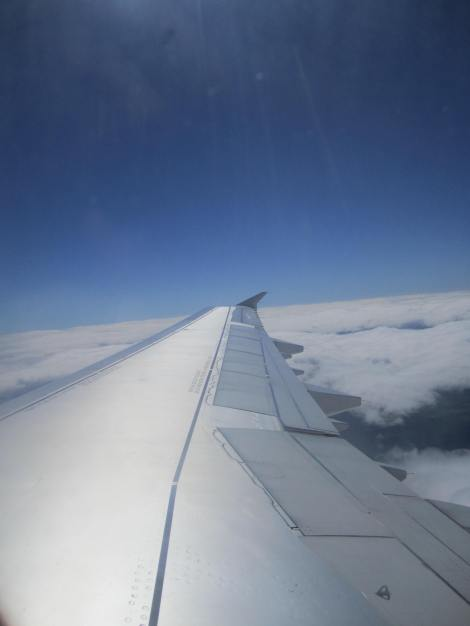 En ruta entre Madrid y Barcelona en un A321 de Iberia