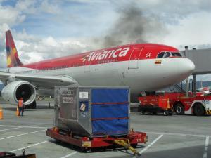 A330 de Avianca en El Dorado