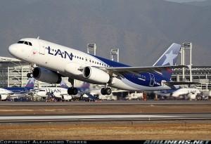 LAN confió en la familia A32S para la implementación del exitoso modelo LASER. Foto de Alejandro Torres en Airliners