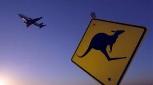 La Kangaroo Route. Muy ilustrativa foto de Australian Business Traveller