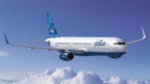 Render del A321 de Jet Blue. De NYC Aviation