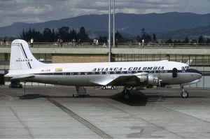 DC-4 de Avianca. Tomado de Wikipedia, por Christian Volpati