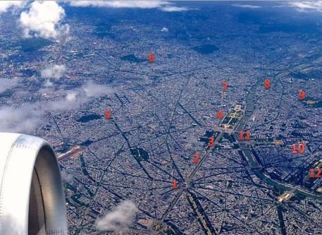 Tomada del tuiter de Air France