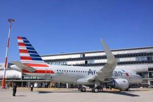 Airbus regresando a American, con éste A319. Tomada de Airchive