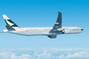 B777-300ER actual de Cathay Pacific. Tomado de Aspire Aviation