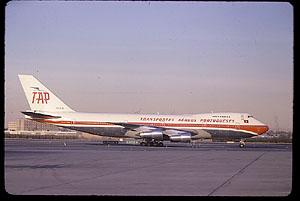 B747 de TAP. De Auction Transportation