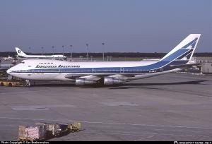 El LV-MLR, encargado del vuelo a Hong Kong. En Plane Spotters