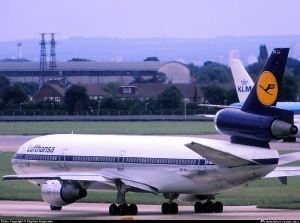 DC-10 de Lufthansa. De Plane Spotters