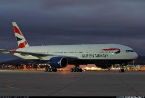 El mismo avión había llevado a la Reina Isabel a la inauguración de los mismos vuelos en Camberra. Ese vuelo hizo escala en Singapur. Foto de Jeff Gilbert en Ailiners