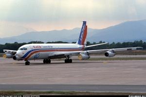 B707, CC-CEI en Girona durante el último 'Crucero del Aire' Por Jordi Grife en Airliners