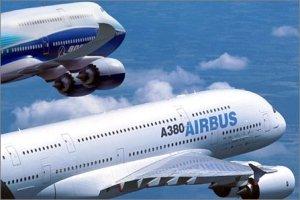 Las agencias gubernamentales también participan de la batalla Boeing Vs Airbus, además contra los otros fabricantes. Imagen de Flightglobal