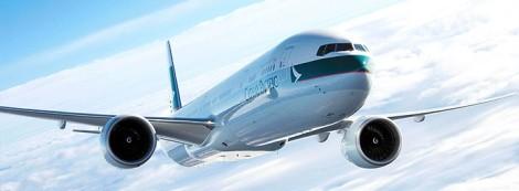 B777-300ER de Cathay Pacific. Tomado de la página de la aerolínea