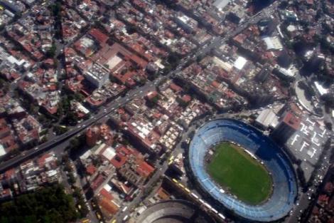 Estadio Azul de Ciudad de México. Foto de @ishosholoza