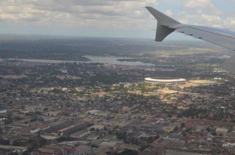 Estadio Nacional Benjamín Mkapa de Dar es Salaam, Tanzania. Foto de @ishosholoza