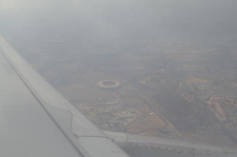 Estadio Soccer City de Johannesburgo, por @ishosholoza