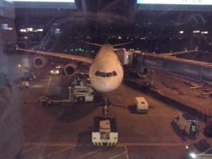 Un viejo amor... El A340-600 de Lufthansa en Bogotá