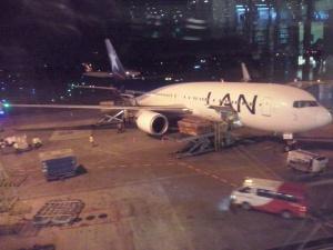 Otra del B767 de LAN