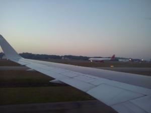 A330F de Avianca Cargo recién aterrizado en Sao Paulo desde un B767 de LAN