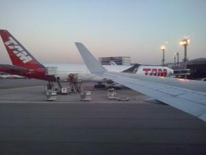 B777-300ER de TAM en Sao Paulo