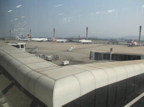 American, Lufthansa, Delta y TAM en posiciones remotas de Rio de Janeiro