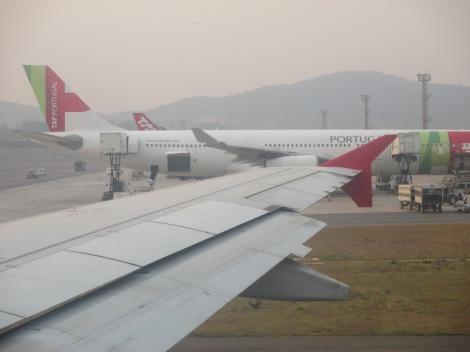A340-300 de TAP en Sao Paulo