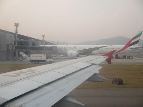 B777-300ER de Emirates en Sao Paulo