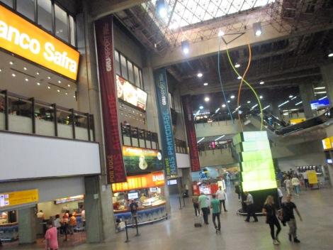 Terminal antigua de Guarulhos