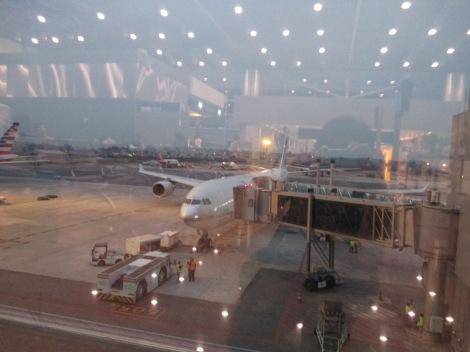 A340-500 de Etihad en Sao Paulo