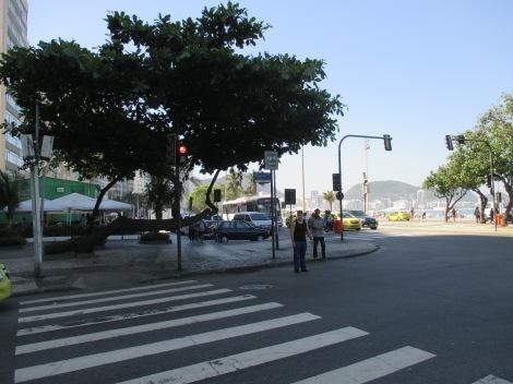 A dos cuadras del apartamento, Copacabana!
